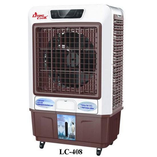 Máy làm mát không khí Livingcook LC 408 mạnh mẽ, công suất 350W