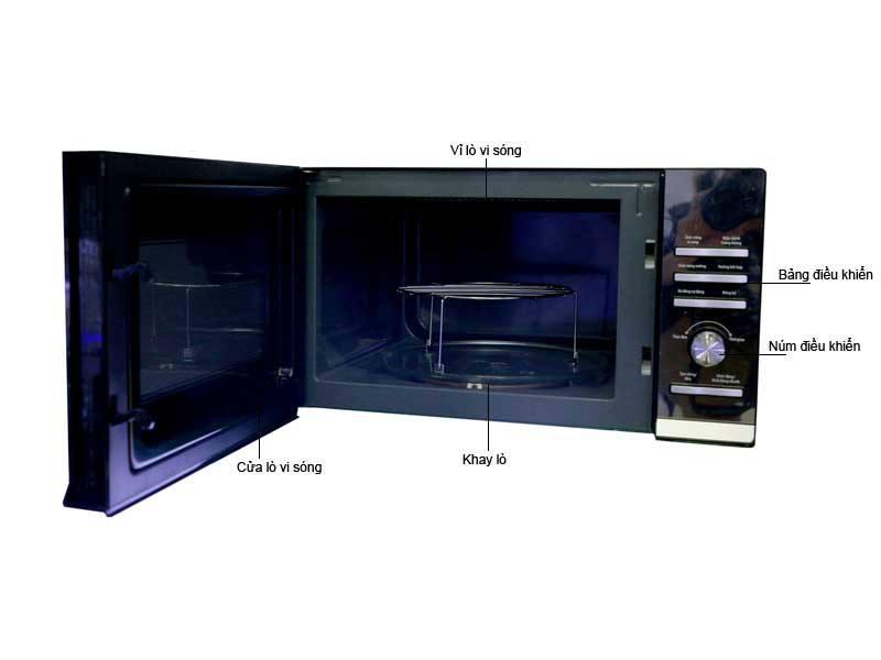 Thiết kế lò vi sóng Bluestone MOB-7755