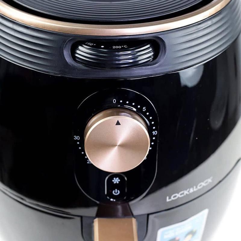 Núm vặn để thiết lập thời gian và nhiệt độ dễ sử dụng