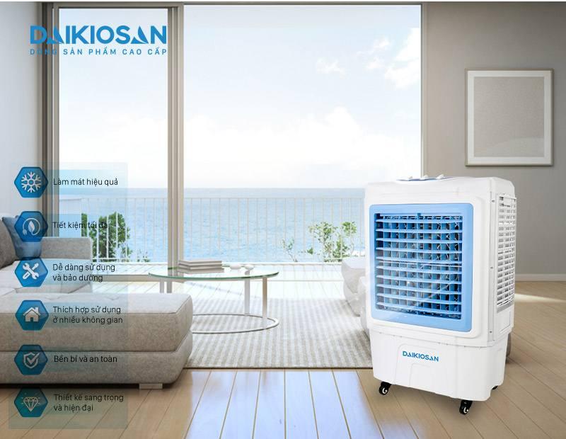 Máy làm mát không khí Daikiosan DKA-05000C tốt bền