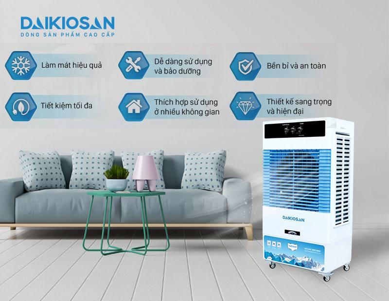 Tính năng của máy làm mát không khí Daikiosan DKA 6000A