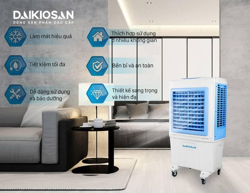 Ưu điểm của máy làm mát không khí Daikiosan DKA-05000A
