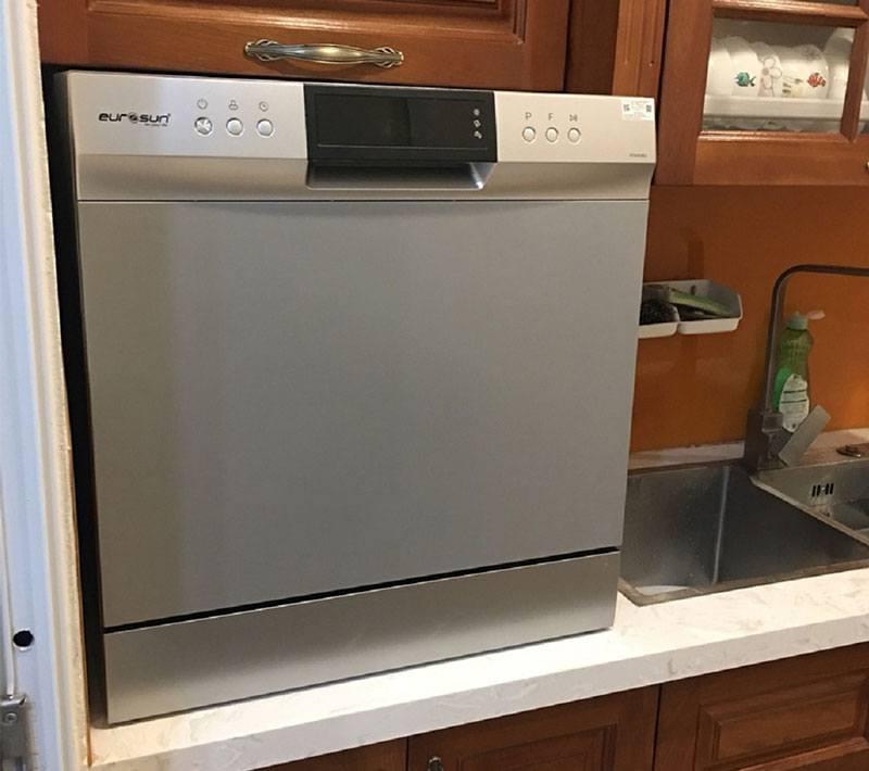 Máy cũng có thể đặt lên bàn bếp