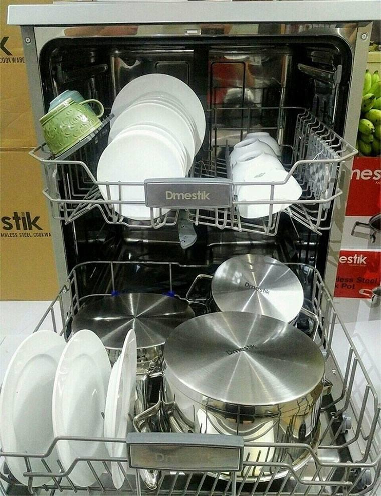 Máy rửa bát đĩa xoong nồi đa năng