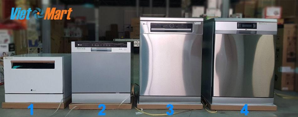 Các mẫu máy rửa bát Arber