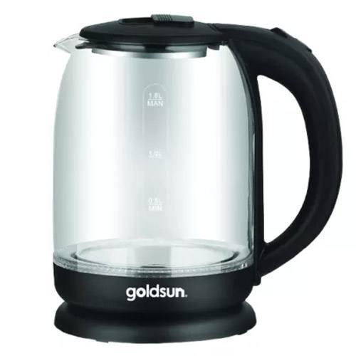 Ấm siêu tốc thủy tinh Goldsun GKT2601G 1.8 lít